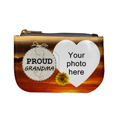 Proud Grandma Mini Coin Purse By Lil    Mini Coin Purse   Ktu7ciuf46l1   Www Artscow Com Front