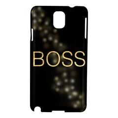 Boss Samsung Galaxy Note 3 N9005 Hardshell Case