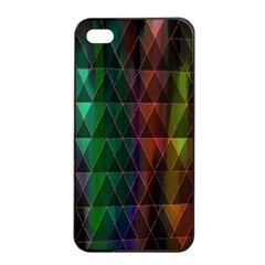 Color Apple Iphone 4/4s Seamless Case (black) by ILANA