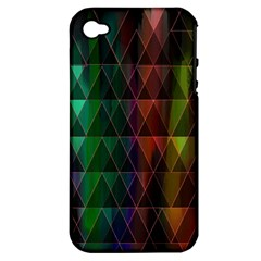 Color Apple Iphone 4/4s Hardshell Case (pc+silicone)