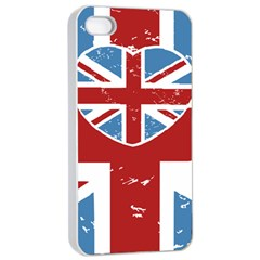 Union Love Vintage Case Design Apple Iphone 4/4s Seamless Case (white) by Contest1778683