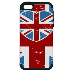 Union Love Vintage Case Design Apple Iphone 5 Hardshell Case (pc+silicone) by Contest1778683