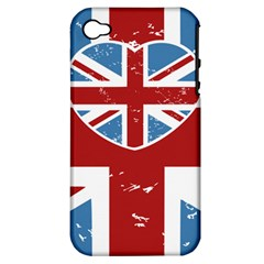 Union Love Vintage Case Design Apple Iphone 4/4s Hardshell Case (pc+silicone) by Contest1778683