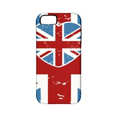 Union Love Vintage Case Design Apple Iphone 5 Classic Hardshell Case (pc+silicone) by Contest1778683