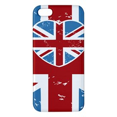 Union Love Vintage Case Design Iphone 5 Premium Hardshell Case by Contest1778683