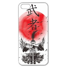 The Warrior Apple Seamless Iphone 5 Case (clear) by DesignsbyReg2