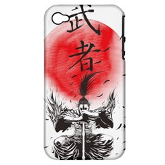 The Warrior Apple iPhone 4/4S Hardshell Case (PC+Silicone) by DesignsbyReg2