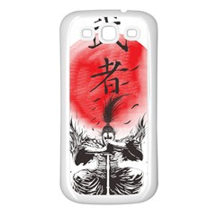 The Warrior Samsung Galaxy S3 Back Case (white) by DesignsbyReg2