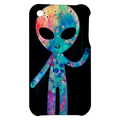 Greetings from your phone Apple iPhone 3G/3GS Hardshell Case by TheTalkingDead