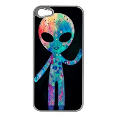 Greetings From Your Phone Apple Iphone 5 Case (silver) by TheTalkingDead