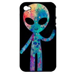 Greetings From Your Phone Apple Iphone 4/4s Hardshell Case (pc+silicone) by TheTalkingDead