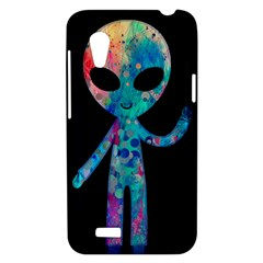 Greetings from your phone HTC Desire VT T328T Hardshell Case by TheTalkingDead