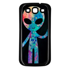 Greetings From Your Phone Samsung Galaxy S3 Back Case (black) by TheTalkingDead