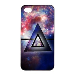 Galaxy Triangle Apple Iphone 4/4s Seamless Case (black)