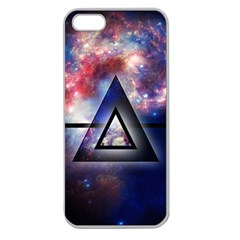 Galaxy Triangle Apple Seamless Iphone 5 Case (clear)