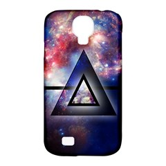Galaxy Triangle Samsung Galaxy S4 Classic Hardshell Case (pc+silicone)