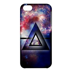 Galaxy Triangle Apple Iphone 5c Hardshell Case by Contest1775858