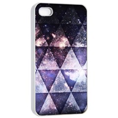 Triangle Tiles Apple Iphone 4/4s Seamless Case (white)
