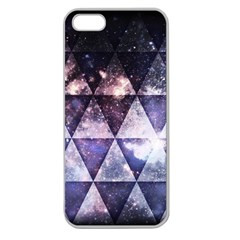 Triangle Tiles Apple Seamless Iphone 5 Case (clear) by Contest1775858