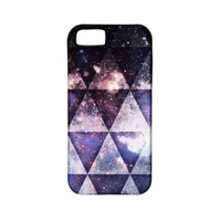 Triangle Tiles Apple Iphone 5 Classic Hardshell Case (pc+silicone)