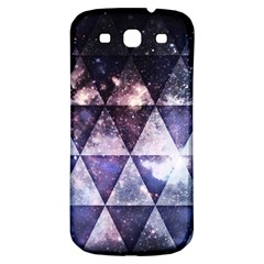 Triangle Tiles Samsung Galaxy S3 S Iii Classic Hardshell Back Case by Contest1775858