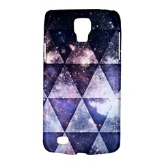 Triangle Tiles Samsung Galaxy S4 Active (i9295) Hardshell Case by Contest1775858