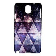 Triangle Tiles Samsung Galaxy Note 3 N9005 Hardshell Case by Contest1775858