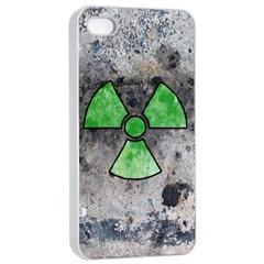 Nuke Warning Apple Iphone 4/4s Seamless Case (white)