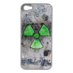 Nuke Warning Apple Iphone 5 Case (silver)