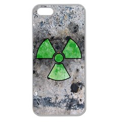 Nuke Warning Apple Seamless Iphone 5 Case (clear)