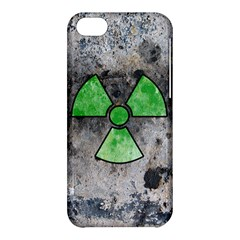 Nuke Warning Apple Iphone 5c Hardshell Case by Contest1775858
