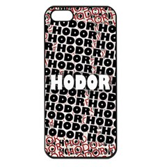 Hodor Apple Iphone 5 Seamless Case (black)