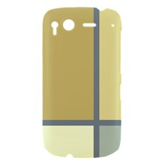 Minimalist Art HTC Desire S Hardshell Case by Contest1775858