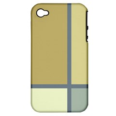 Minimalist Art Apple Iphone 4/4s Hardshell Case (pc+silicone) by Contest1775858