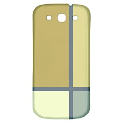 Minimalist Art Samsung Galaxy S3 S Iii Classic Hardshell Back Case by Contest1775858