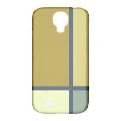 Minimalist Art Samsung Galaxy S4 Classic Hardshell Case (pc+silicone) by Contest1775858