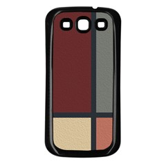 Modern Art Samsung Galaxy S3 Back Case (black)