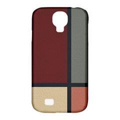 Modern Art Samsung Galaxy S4 Classic Hardshell Case (pc+silicone)