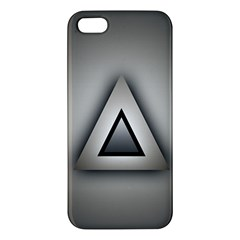 Metalic Triangle Iphone 5 Premium Hardshell Case