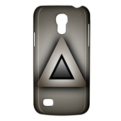 Metalic Triangle Samsung Galaxy S4 Mini Hardshell Case