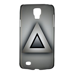 Metalic Triangle Samsung Galaxy S4 Active (i9295) Hardshell Case