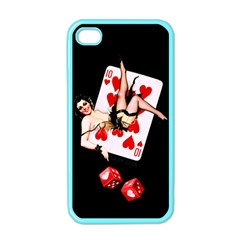 Lady Luck Apple Iphone 4 Case (color)