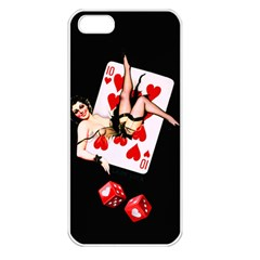 Lady Luck Apple Iphone 5 Seamless Case (white)