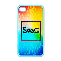 Swag (color) Apple Iphone 4 Case (color)