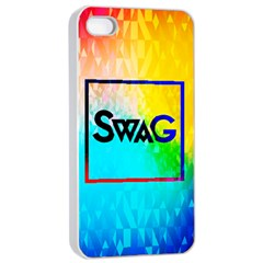 Swag (color) Apple Iphone 4/4s Seamless Case (white)