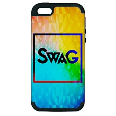 Swag (color) Apple Iphone 5 Hardshell Case (pc+silicone)