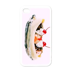 Banana Split Apple Iphone 4 Case (white)