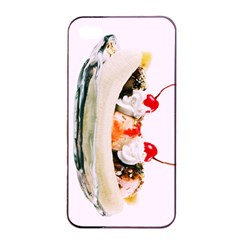Banana Split Apple Iphone 4/4s Seamless Case (black)