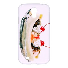 Banana Split Samsung Galaxy S4 I9500/i9505 Hardshell Case by TheTalkingDead