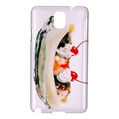 Banana Split Samsung Galaxy Note 3 N9005 Hardshell Case by TheTalkingDead